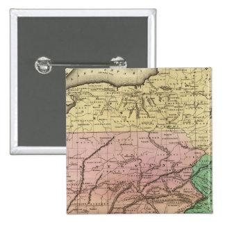 Mapa de Olney de los estados del centro Pin
