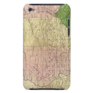 Mapa de Olney de los Estados Occidentales Barely There iPod Carcasa