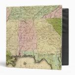 Mapa de Olney de los estados sureños