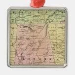 Mapa de Olney de los estados sureños Ornamente De Reyes