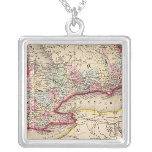 Mapa de Ontario de Mitchell Collares Personalizados