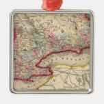 Mapa de Ontario de Mitchell Ornamentos De Reyes Magos