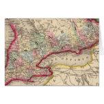 Mapa de Ontario de Mitchell Tarjeton