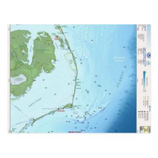 Mapa de Outer Banks Postal