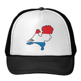 Mapa de Países Bajos Gorro