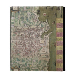 "Mapa de Palermo, de ""Civitates Orbis Terrarum"" cer"