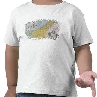 Mapa de Palestina Camiseta