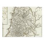 Mapa de Palestina Postal