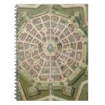 """Mapa de Palma, de """"Civitates Orbis Terrarum"""" por G Libreta"""