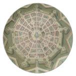 "Mapa de Palma, de ""Civitates Orbis Terrarum"" por G Platos Para Fiestas"
