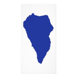 Mapa de Palma del La Tarjetas Fotográficas Personalizadas