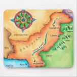 Mapa de Paquistán Tapete De Ratones