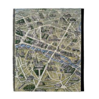 Mapa de París durante el período de los Grands