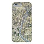 Mapa de París durante el período de los Grands Funda De iPhone 6 Slim