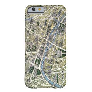 Mapa de París durante el período de los Grands Funda De iPhone 6 Barely There