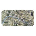 Mapa de París durante el período de los Grands iPhone 5 Cárcasa