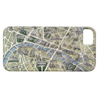 Mapa de París durante el período de los Grands iPhone 5 Funda