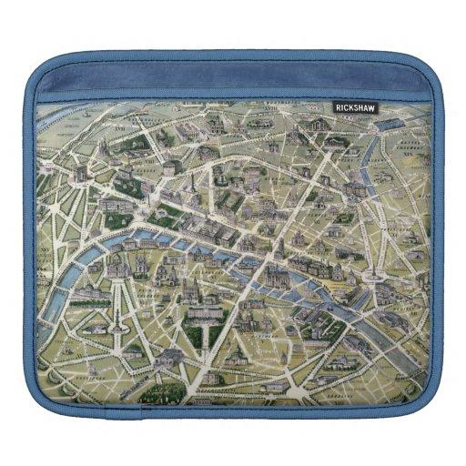 Mapa de París durante el período de los Grands Mangas De iPad