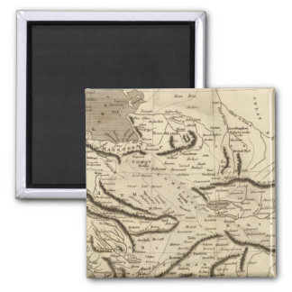 Mapa de Persia por Arrowsmith Imán Cuadrado