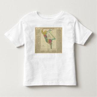 Mapa de Perú Playera De Bebé