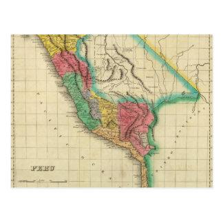 Mapa de Perú Postal