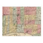 Mapa de Philadelphia de Mitchell Postal