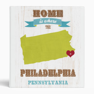 Mapa de Philadelphia Pennsylvania - casero está d