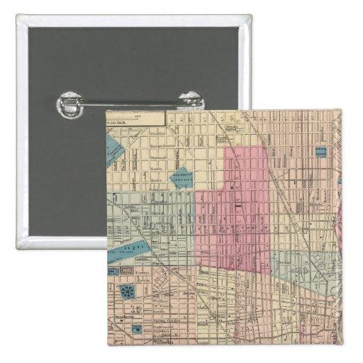 Mapa de Philadelphia, Pennsylvania Pin