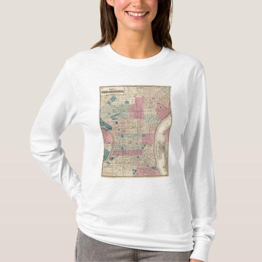 Mapa de Philadelphia, Pennsylvania Playera