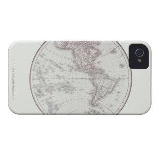 Mapa de Planispheric iPhone 4 Cobertura