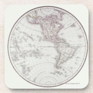 Mapa de Planispheric Posavasos