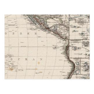 Mapa de Polinesia Postal