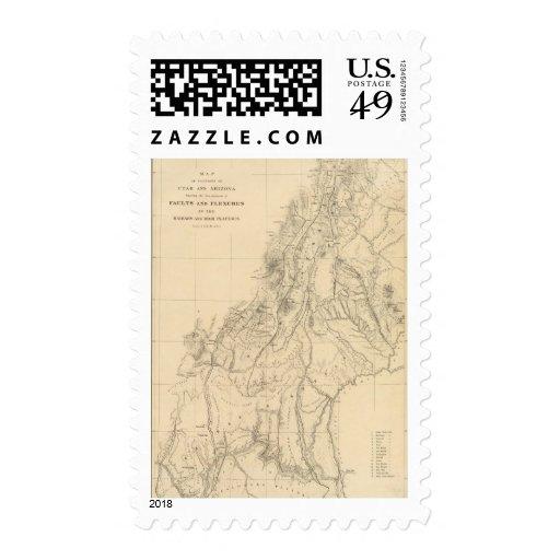 Mapa de porciones de Utah Sellos