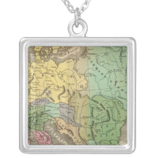 Mapa de provincias en el imperio romano collar personalizado