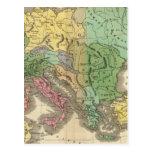 Mapa de provincias en el imperio romano postales
