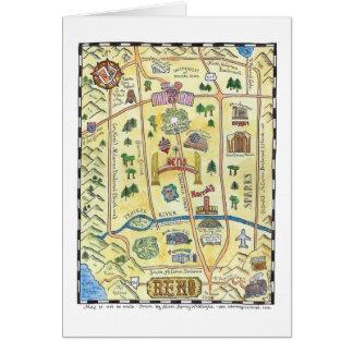 Mapa de Reno Tarjeton