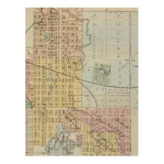 Mapa de Rochester, Minnesota Postal