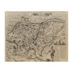 Mapa de Roma antigua Cuadro De Madera
