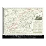 Mapa de ruta del Don Quijote - Cervantes Postales