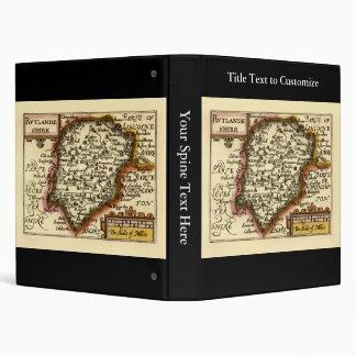 """Mapa de """"Rutlandeshire"""" (Rutlandshire) el condado Carpeta 1"""""""