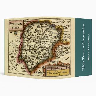 """Mapa de """"Rutlandeshire"""" (Rutlandshire) el condado Carpeta 1 1/2"""""""
