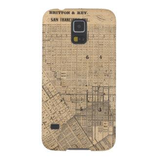 Mapa de San Francisco Fundas De Galaxy S5