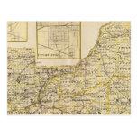 Mapa de Schuyler, albañil, Brown Postal
