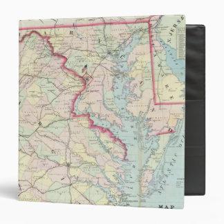 """Mapa de Seat de la guerra Carpeta 1 1/2"""""""