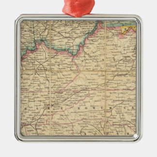 Mapa de Seat de la guerra civil en América Adorno
