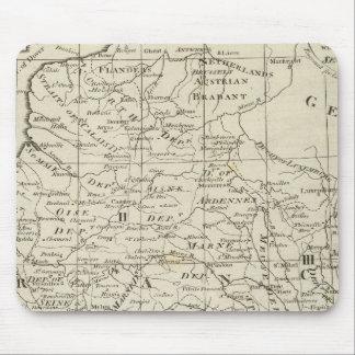 Mapa de Seat de la guerra en Francia Tapetes De Raton