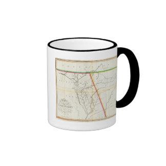 Mapa de Seat de la guerra entre los indios de The  Tazas De Café