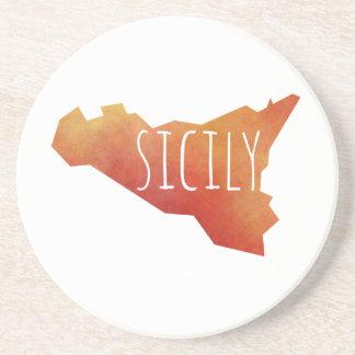 Mapa de Sicilia Portavasos