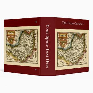 """Mapa de """"Somersetshire"""" el condado de Somerset, Carpeta 2"""""""