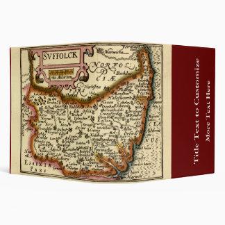 """Mapa de """"Suffolck"""" el condado de Suffolk Carpeta 2"""""""